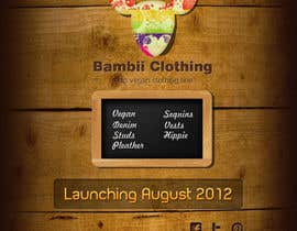 #17 for Graphic Design for bambii clothing.ca af dipcore