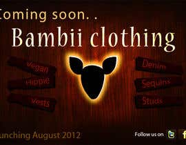 #15 cho Graphic Design for bambii clothing.ca bởi farhanpm786