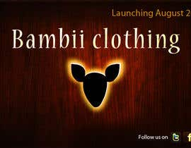 #16 cho Graphic Design for bambii clothing.ca bởi farhanpm786