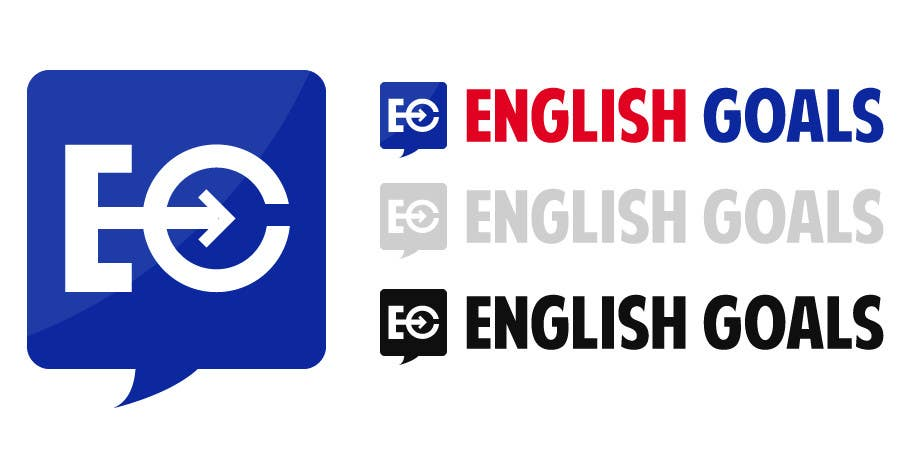 Logo Design for 'English Goals'
