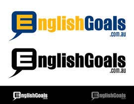 #42 cho Logo Design for 'English Goals' bởi winarto2012