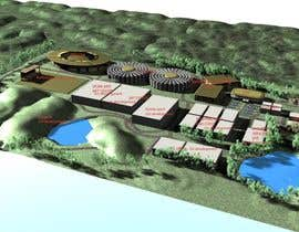 #12 for 3D modelisation of a center dedicated to sustainable development af Experton3darts