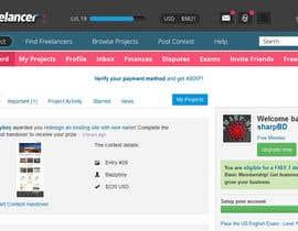 #55 for Design a Website Mockup for Freelancer.com !!! by sharpBD