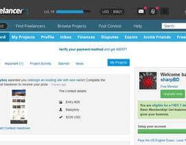 #56 for Design a Website Mockup for Freelancer.com !!! by sharpBD