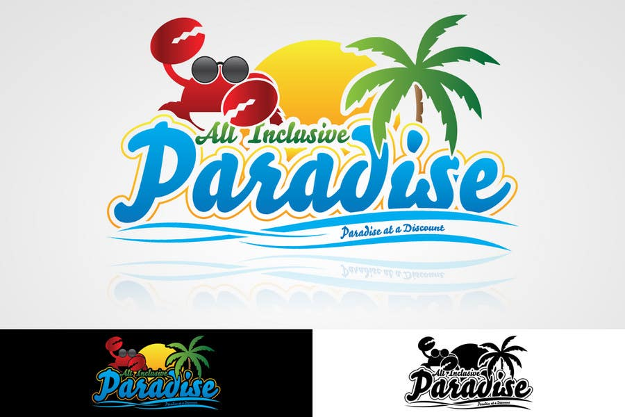 Participación en el concurso Nro.69 para Logo Design for All Inclusive Paradise