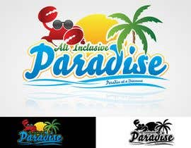#69 per Logo Design for All Inclusive Paradise da MladenDjukic