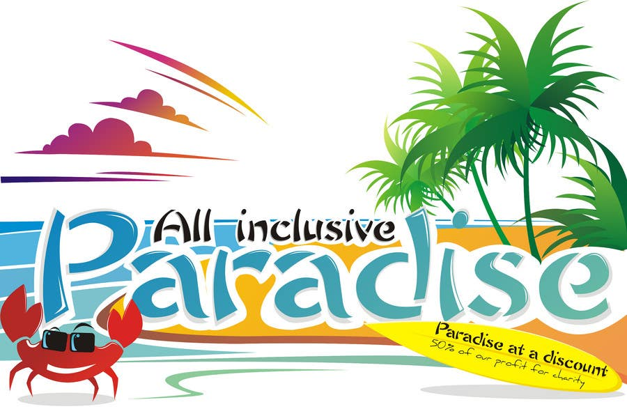 Contest Entry #                                        104                                      for                                         Logo Design for All Inclusive Paradise