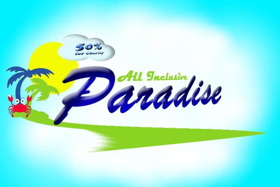 Participación en el concurso Nro.118 para Logo Design for All Inclusive Paradise