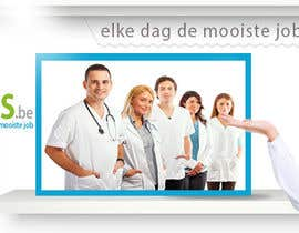 #1 for Ontwerp een Banner for facebook, twitter, linkedin header for a health care jobboard by walaaayaz