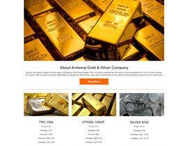 #22 for Design & wordpress website for Gold and Silver company af dyymonn