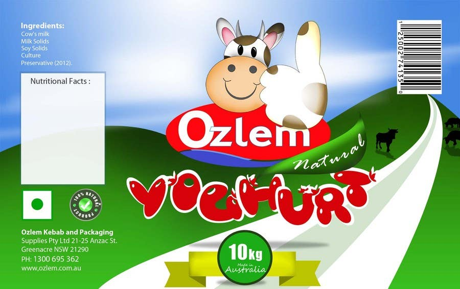 #177 for Graphic Design for Ozlem Kebab & Packaging Pty Ltd by farhanpm786