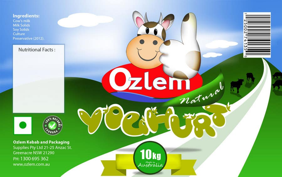 Конкурсная заявка №184 для Graphic Design for Ozlem Kebab & Packaging Pty Ltd