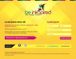 #6 for Landing Page for Be Inkspired by j4jameel2