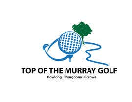 nº 183 pour Logo Design for Top Of The Murray Golf par danumdata