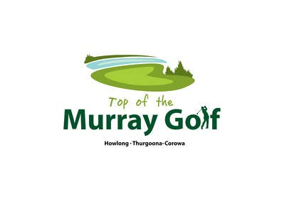 #189 pentru Logo Design for Top Of The Murray Golf de către paxslg