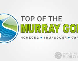 #158 pentru Logo Design for Top Of The Murray Golf de către gunnercantu