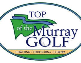 #118 para Logo Design for Top Of The Murray Golf por DMPartist