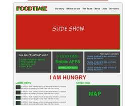 #15 for Design a Website Mockup for FoodDelivery af mishok123