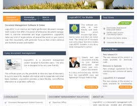 #14 for Layout the contents of the Home page of a web-site using a defined template by AaryaInf