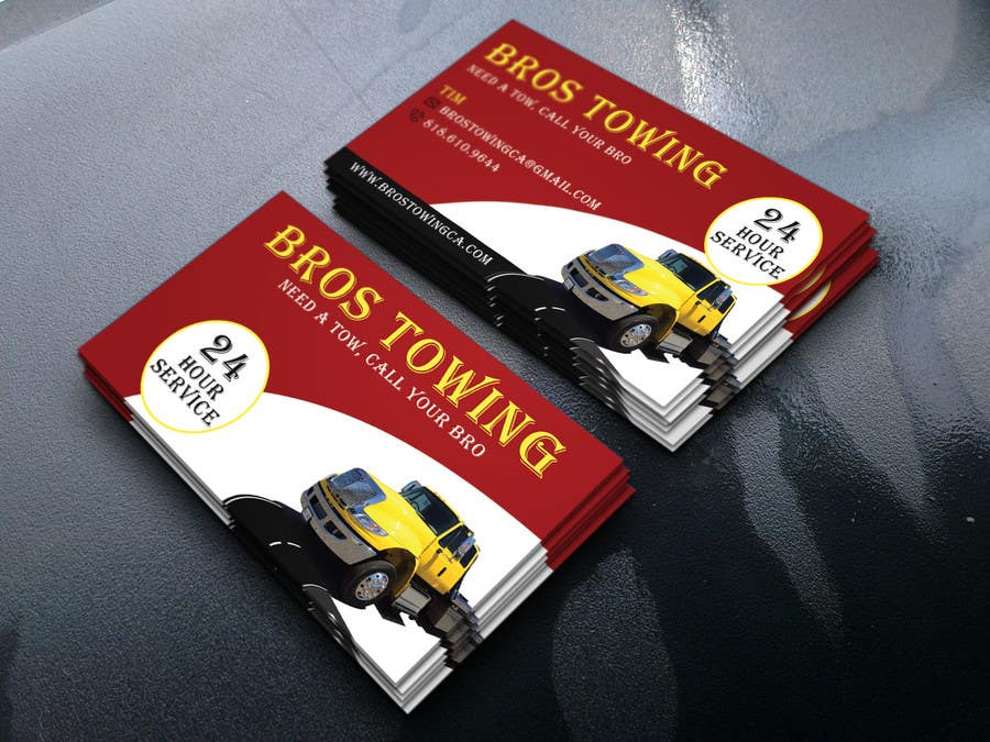 Entry 47 by arupbh0001 for tow truck business cards freelancer contest entry 47 for tow truck business cards colourmoves