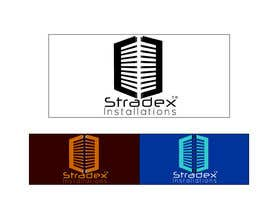 #11 para Logo Design for Stradex Installations por alfredcadungog