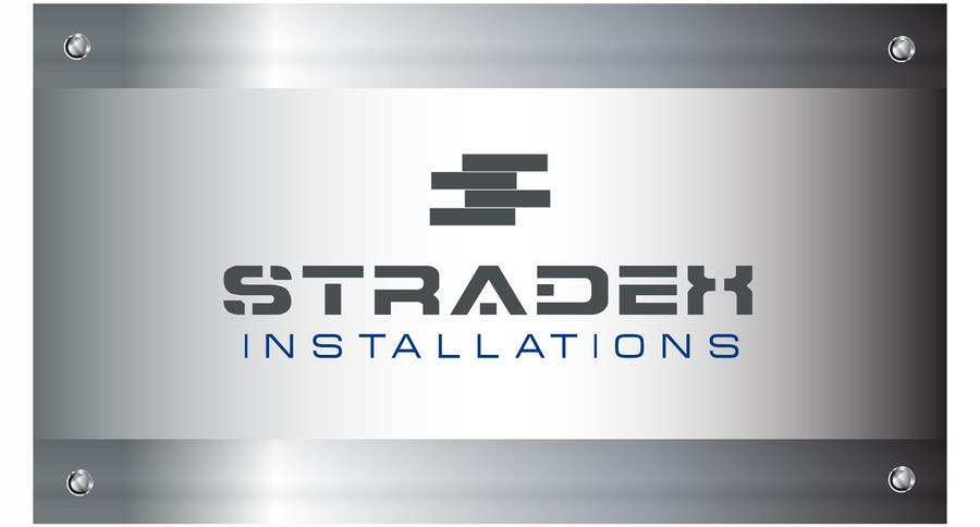 Penyertaan Peraduan #54 untuk Logo Design for Stradex Installations