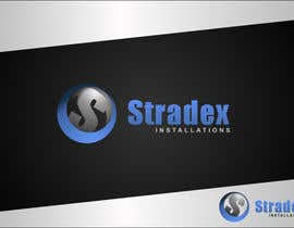 #65 para Logo Design for Stradex Installations por dimitarstoykov