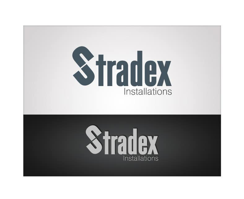 Contest Entry #                                        50                                      for                                         Logo Design for Stradex Installations