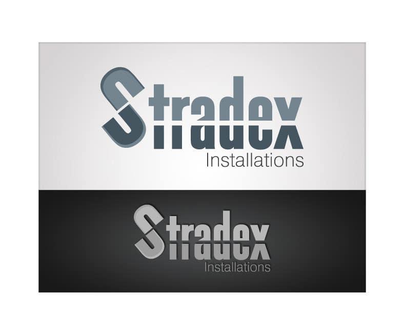 Penyertaan Peraduan #51 untuk Logo Design for Stradex Installations