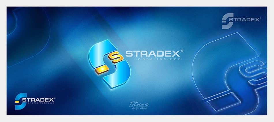 Penyertaan Peraduan #89 untuk Logo Design for Stradex Installations