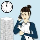 Bài tham dự #20 về Illustration cho cuộc thi Workaholic illustration or cartoon. Design single-panel illustration or cartoon symbolizing a Workaholic (multiple winners possible).
