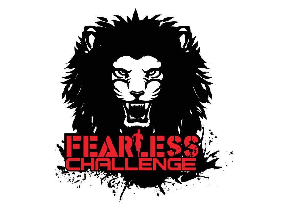 Konkurrenceindlæg #                                        110                                      for                                         Logo Design for Fearless Challenge