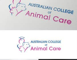 nº 106 pour Logo Design for Australian College of Animal Care par AntonNikolov