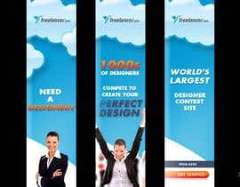 #247 สำหรับ Banner Ad Design for Freelancer.com โดย damorin