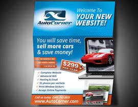 #19 для Flyer Design for AutoCorner от krisztiankerek