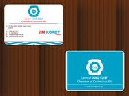Graphic Design Конкурсная работа №28 для ***URGENT*** Business Card Design for Central Chamber of Commerce