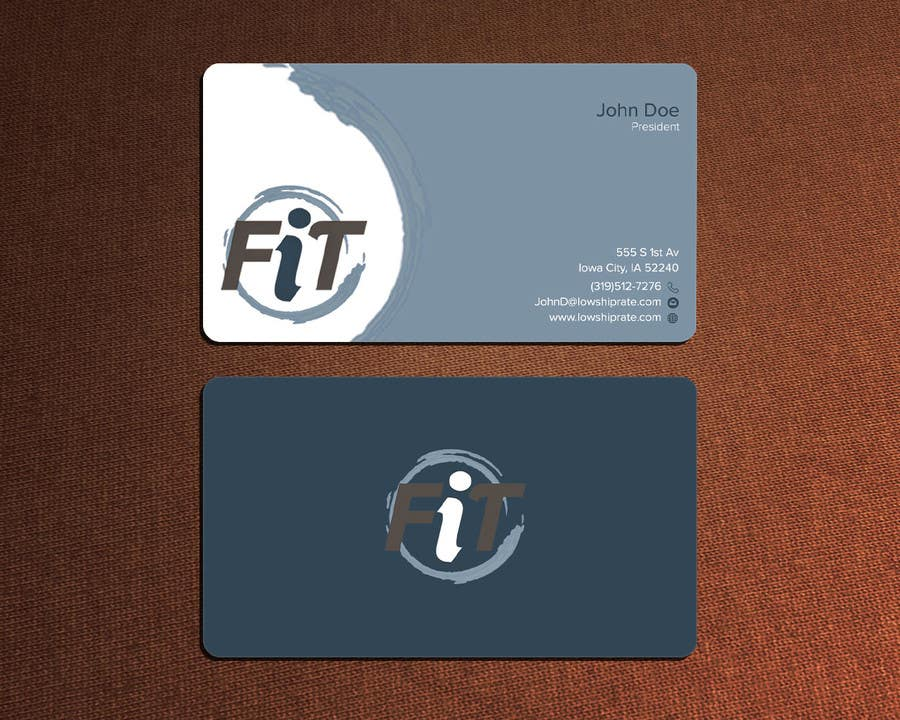 Entry #65 by mnrskp for Design Business Cards for High-End Fitness ...