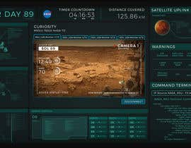 #32 for NASA Contest: Robotic Systems User Interface Theme by suvenjitpal
