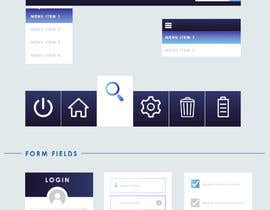 #8 for NASA Contest: Robotic Systems User Interface Theme by switchedau