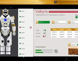 #37 for NASA Contest: Robotic Systems User Interface Theme by Xabacanstyle