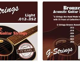 Franstyas tarafından Create Print and Packaging Designs for Acoustic Guitar Strings için no 25