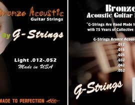 Franstyas tarafından Create Print and Packaging Designs for Acoustic Guitar Strings için no 32