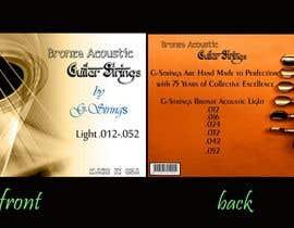 ayush007deo tarafından Create Print and Packaging Designs for Acoustic Guitar Strings için no 28