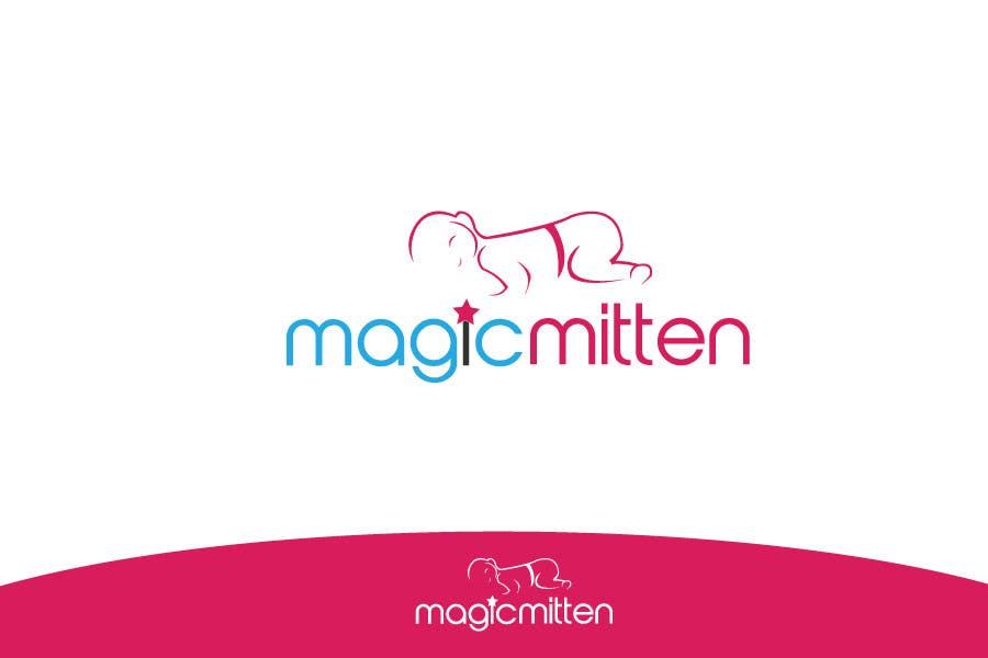 Конкурсная заявка №181 для Logo Design for Magic Mitten, baby calming aid