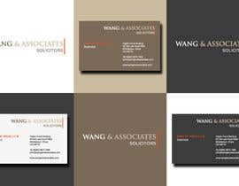 #85 cho Logo Design for Wang & Associates Solicitors bởi N1HK
