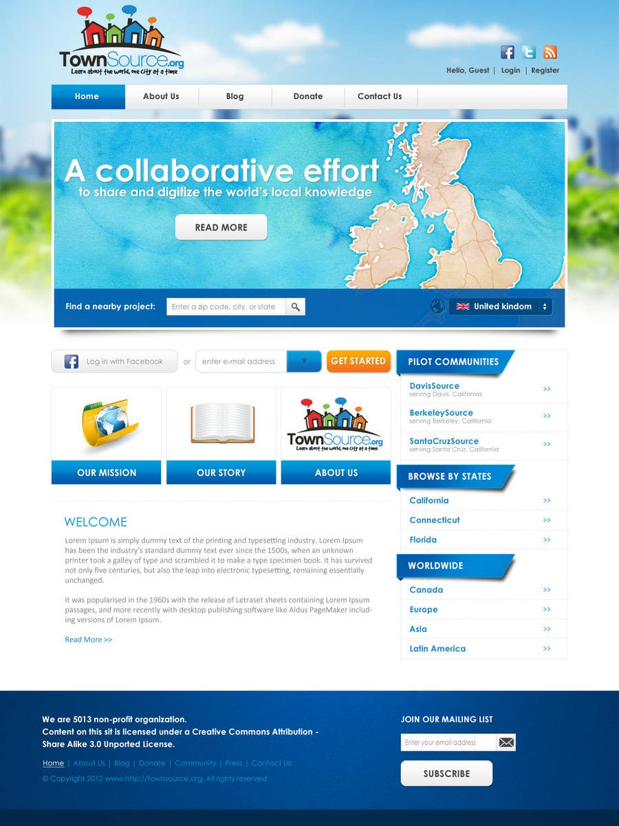 Penyertaan Peraduan #                                        33                                      untuk                                         Website Design for TS Project