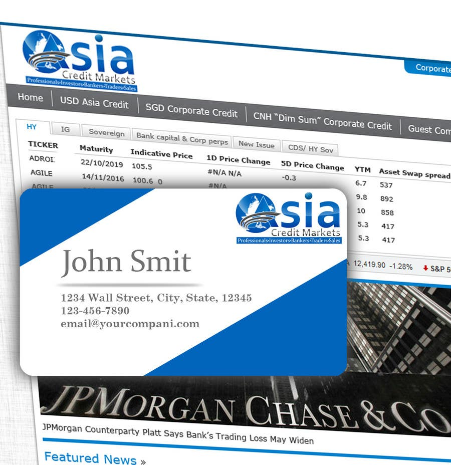 Конкурсная заявка №117 для Logo Design for Asia Credit Markets