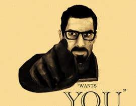 nº 10 pour Change the classic Britain Needs You poster to be Gordon Freeman par FancyLizStudio