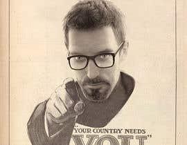 nº 5 pour Change the classic Britain Needs You poster to be Gordon Freeman par zhoocka