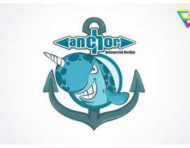 #104 for Sticker Design for Anchor by Ferrignoadv